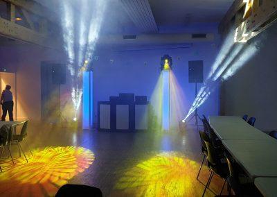 BlueSound Aube Salle des fetes les senardes anniversaire 40ans 28_09_2019 sonorisation eclairage