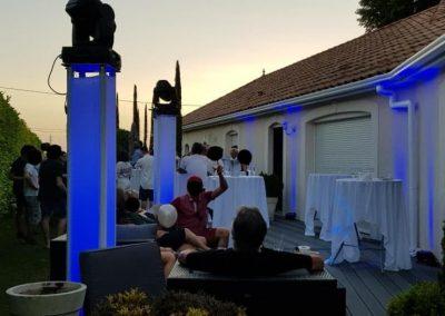 BlueSoundAnimation Pars les Romilly Aube anniversaire18ans 30_06_2019 sono lumiere lyre