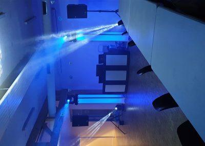 Blue Sound Animation Aube Salle des fetes les senardes anniversaire 40ans-28_09_2019 lyre éclairage